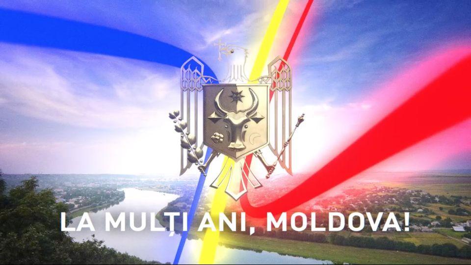 LA MULȚI ANI, REPUBLICA MOLDOVA!