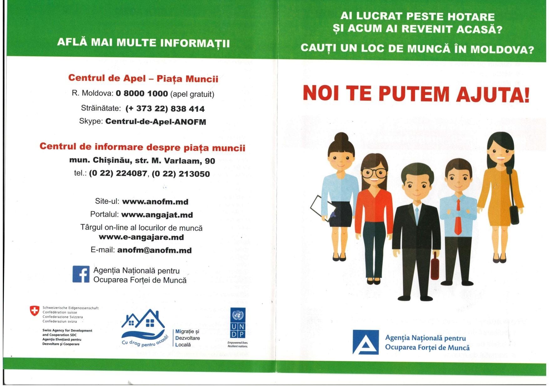 Cauți un loc de muncă în Moldova?